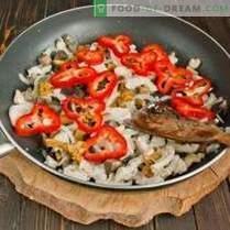 Тестенини од пилешко и печурки - прифатливи класици на италијанска кујна