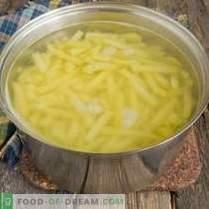 Пржен компир во рерната - кога сакате да се поглезите
