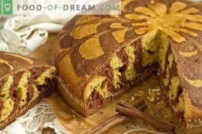 Домашна торта на зебра павлака