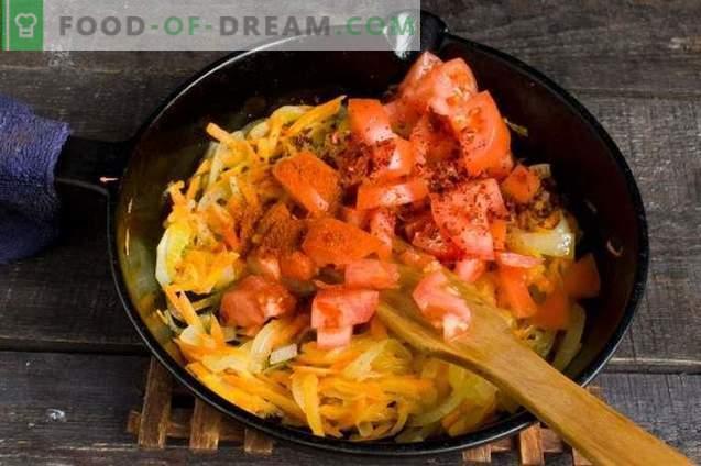 Свежа супа од зелка со ротквица и домати