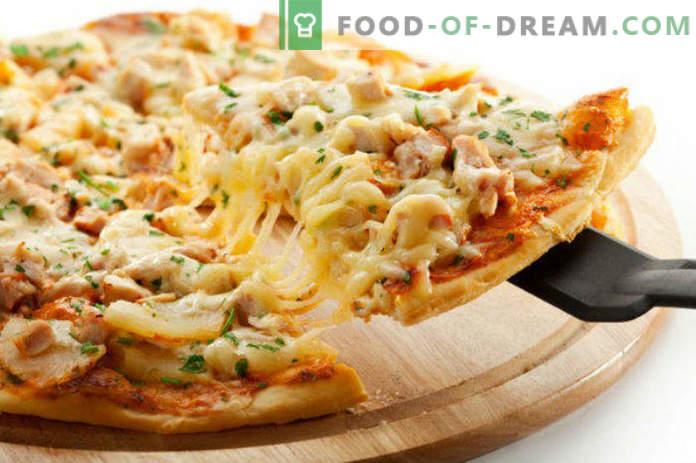 Топ 10 пица полнења дома (рецепти)