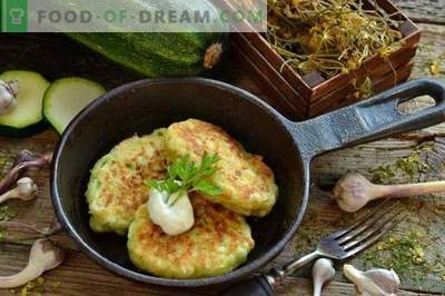 Вкусни тиквички од тиквички со сирење и лук