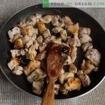 Скршен пилаф со тиква и месо на азербејџански начин