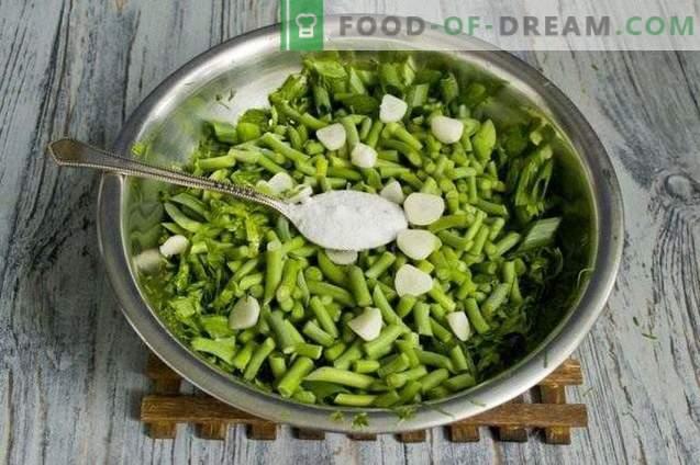 Подготовка на зеленчук за зима: зачини за салати и супи со лук, ...