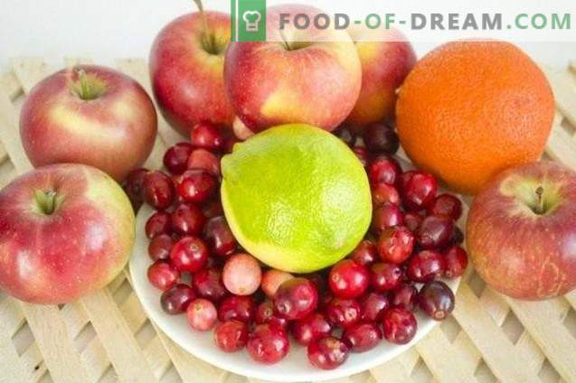 Јаболко џем со малини и цитруси