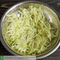 Кашеница од тиквичка со шер и спанаќ