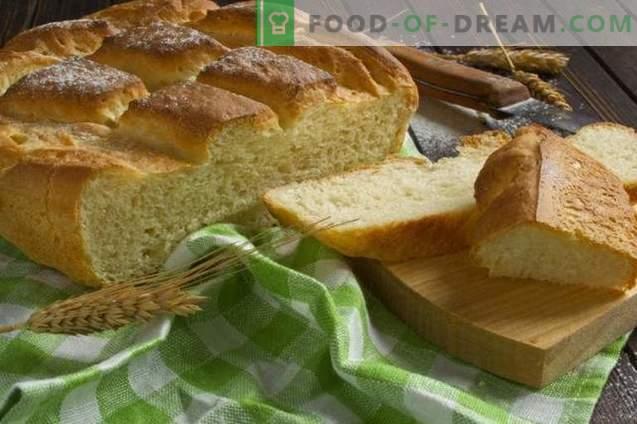 Домашен леб во печката