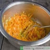 Супа од тиква со моркови и ѓумбир