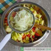 Vinaigrette cu mere și varză - salată delicioasă la post