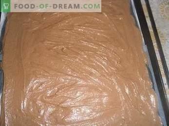 Како да се готви торта Птичјо млеко со гриз, детален рецепт.
