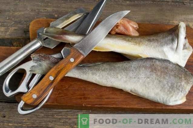 Вкусна navaga во рерна - риба под маринадата