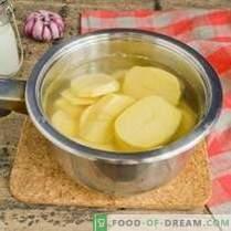 Пире од компири - рецепт со млеко и путер