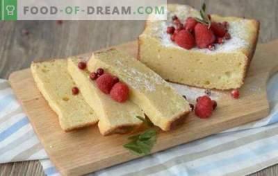 Когнитивно готвење: сунѓер торта со сирење. Добри рецепти за сунѓерска торта - не постои ограничување на совршенството на домашните слатки!