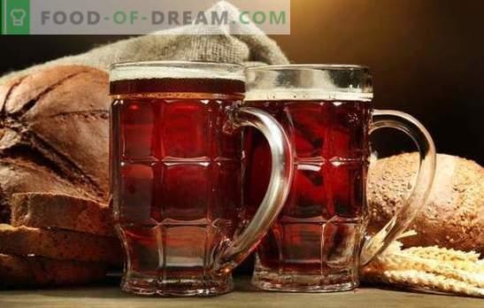 Koorikute kodune kvas on värskendav tervislik ja maitsev jook. Parimad retseptid kroonikrohvist kodus kodus