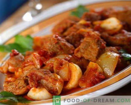 Говедско чорба - најдобриот рецепт. Како правилно и вкусно готви говедско месо чорба.