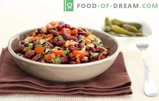 Готвење црвен грав од класичниот рецепт. Црвено гранче лобио - класични рецепти за кавкаски долговечност