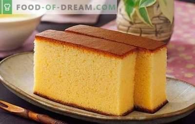 Како да се пече мед бисквит во рерната и бавниот шпорет. Рецепти мед бисквит класичен, на јогурт, павлака, врела вода