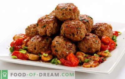 Zemes liellopu gaļas pīrādziņi ir vienkāršs ēdiens. Receptes sulīgām liellopu gaļas cepšanai: klasika utt.
