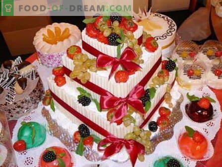 Овошна торта - најдобри рецепти. Како правилно и вкусно да се подготви овошна торта.
