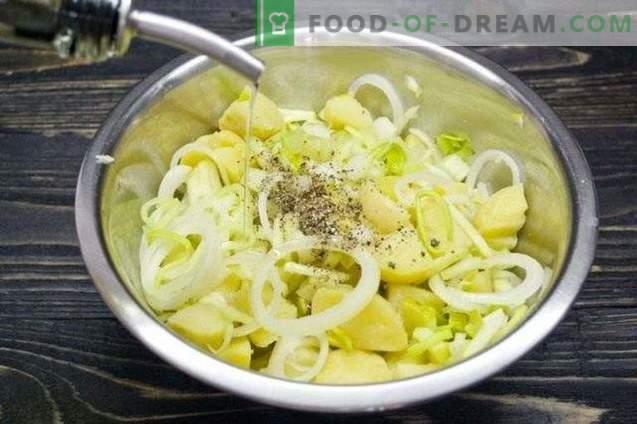 Постен од компир со целер и јаболко