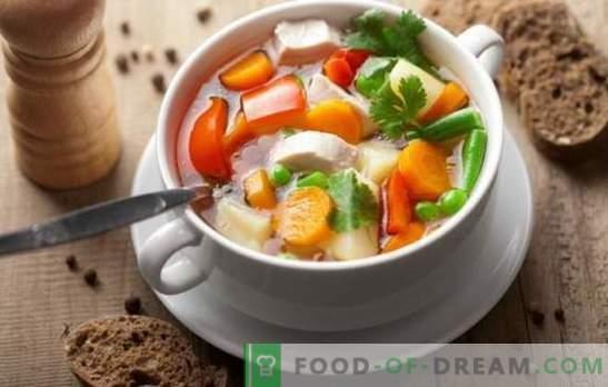 Супата од пилешко зеленчук може да биде ремек-дело! Најдобри рецепти за супа од пилешко зеленчук со крем, сирење, ѓумбир, пченка, тиква