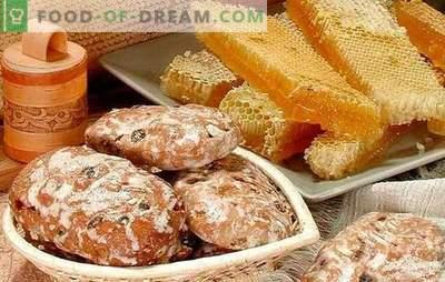 Джинджифилово дома - рецепти. Колбаси со кесир на кефир, джинджифилово мед: како да направите вкусен джинджифилово дома