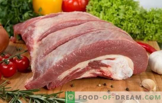 Говедско бискет - готви долго време, јаде брзо! Рецепти и карактеристики на говедско месо за готвење во рерна и котел