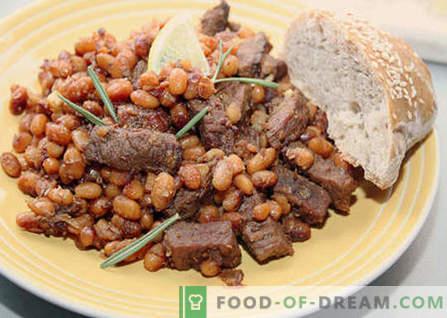 Грав со месо - најдобри рецепти. Како да правилно и вкусно готви грав со месо.