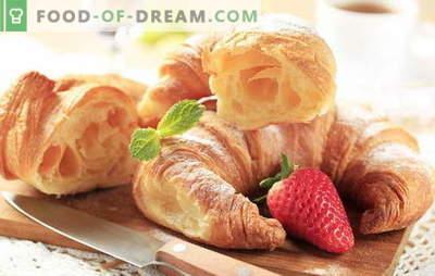 Како да направите француски кроасани? Печење е вкусно дома! Француски домашни кроасан рецепти