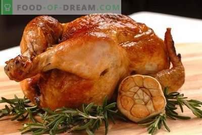 Пилешко со лук - најдобрите рецепти. Како правилно и вкусно готви пилешко со лук.