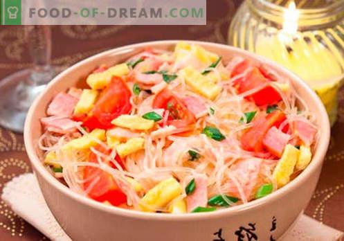 Фунхоза со месо - најдобри рецепти. Како да правилно и вкусно готви funchoza со месо дома.