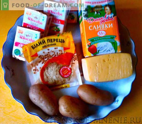Салата со сирење - рецепт со фотографии и опис по чекор по чекор