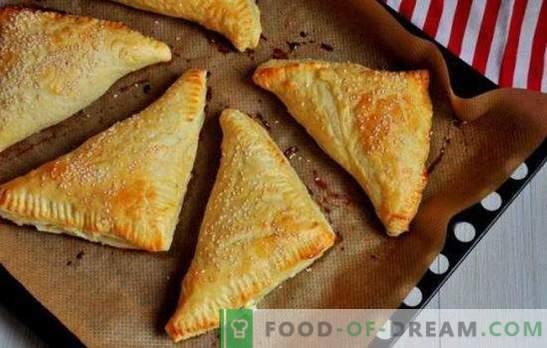 Пушпи со урда: слатка, солена, во рерна и во тава. Рецепти за различни тестенини со тесто со сирење