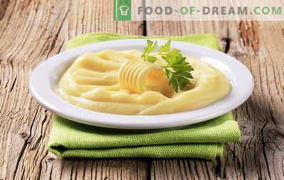 Јајце пире е уште еден начин да се направи популарна гарнитура. Пире од компири со јајце, со млеко и јајце, со путер и јајце