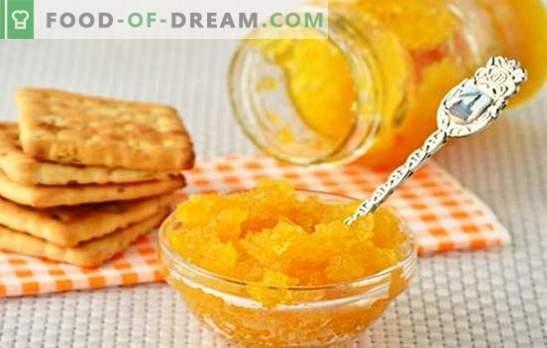 џем од тиквички со портокали е оригинален деликатес. А изборот на најдобрите рецепти тиквички џем со портокали