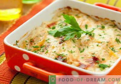 Печурки со сирење се најдобри рецепти. Како правилно и вкусно готви печурки со сирење.