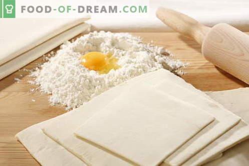 Бескрајно тесто - најдобриот рецепт. Како да готви тестото без квасец.