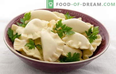 Кромици на кефир со компири - нежен, воздушен, со маснотии. Избор на достапни рецепти за кнедли за кефир со компири