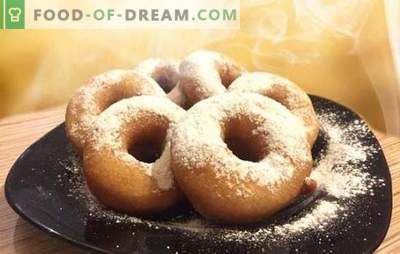 Крофни за кефир - рецепти со фотографии и многу трикови! Детално готвење на различни крофни на кефир според рецепти со слики