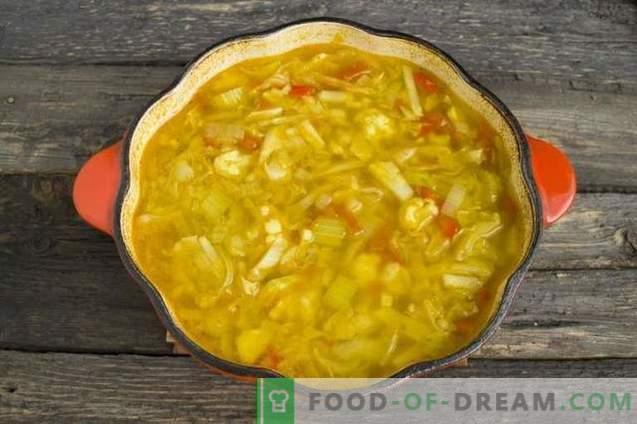 Диетална супа од целер