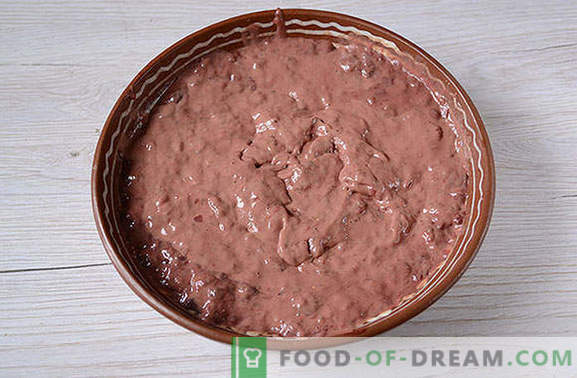 Leberkuchen: ein toller Snack, praktisch für ein Picknick! Klassischer Leberkuchen: Schritt für Schritt Fotorezept