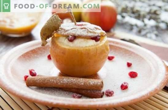 Епл десерт - деликатес со вашиот омилен вкус! Готвење сладолед, тестенини, колачи, салати и други домашни десерти од јаболка