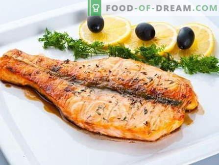 Садови направени од розова лосос се најдобри рецепти. Како правилно и вкусно готви розев лосос.