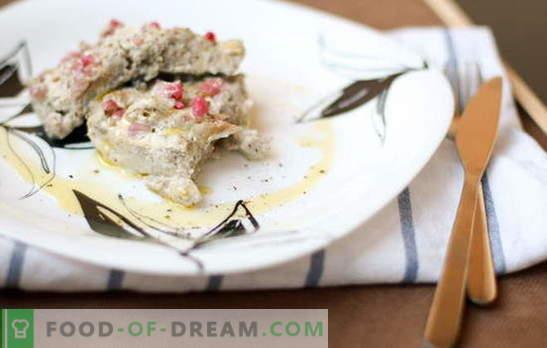 Крап во павлака: богато јадење за диета. Како да брзо и вкусно готви крап во павлака: пржени, печени, цели
