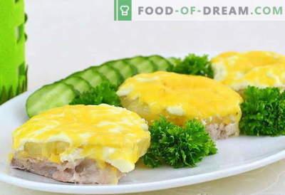Месо со ананас - најдобри рецепти. Како правилно и вкусно да готви месо со ананас.