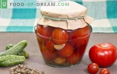 Конзервирани домати за зима: вкусно чување. Рецепти конзервирани домати за зима