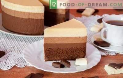 Три чоколадни торта: рецепт за најсофистицираните гурмани.