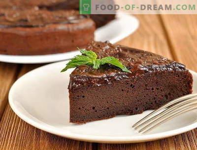 Чоколадна торта - најдобриот рецепт. Како правилно и вкусно да се подготви чоколадна торта.