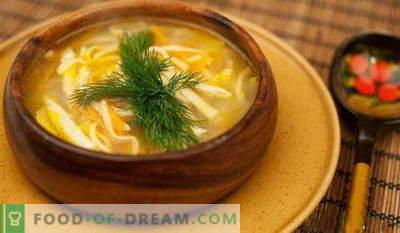 Супа од глупак - најдобриот рецепт. Како да правилно и вкусна супа од готвачка готвачка.