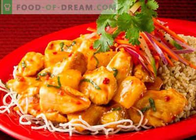 Корејски пилешко - најдобри рецепти. Како правилно и вкусно да готви корејски пилешко.